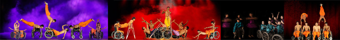AAMAD dance on wheelchairs